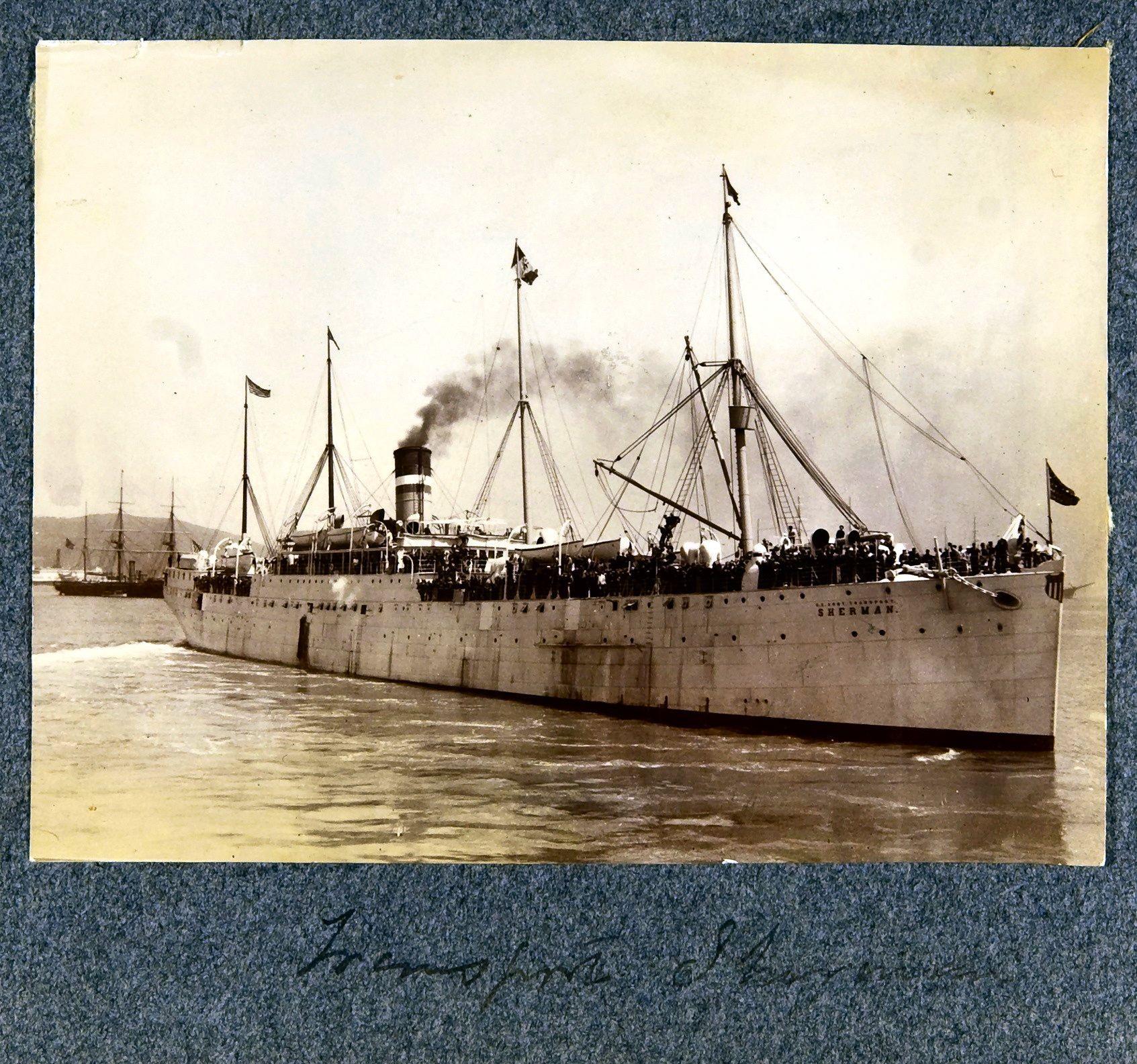 31. Транспортное судно USAT «Шерман»