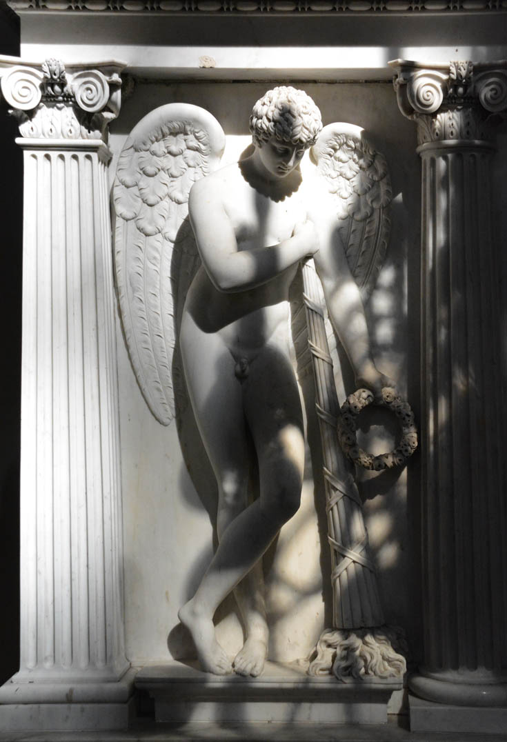 Кваренги, надгробие С.Грейга