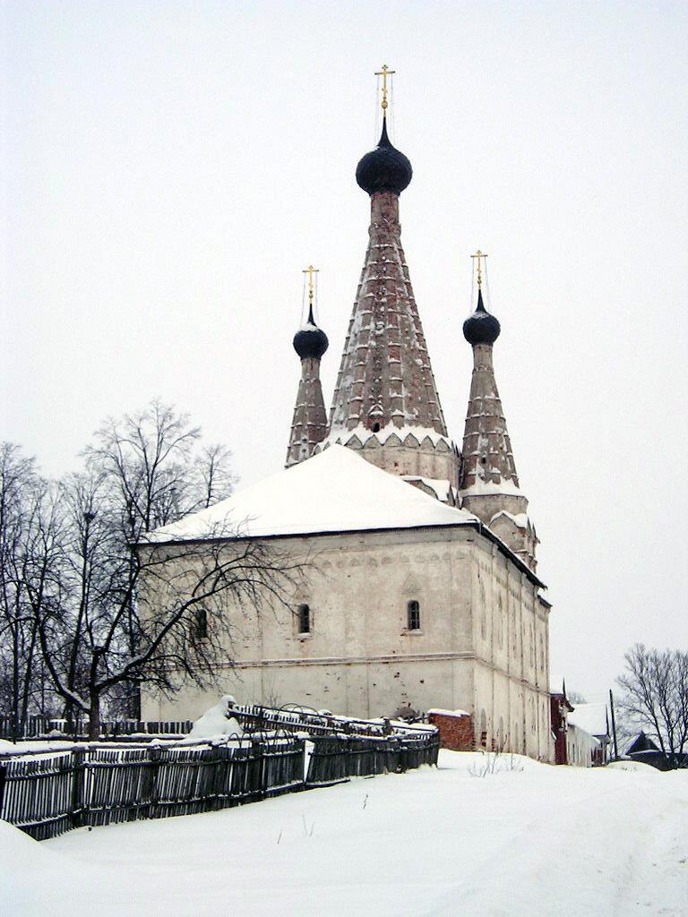 Успенская Дивная церковь, 1628, Алексеевский Монастырь, 1371,, г.Углич(зимой)