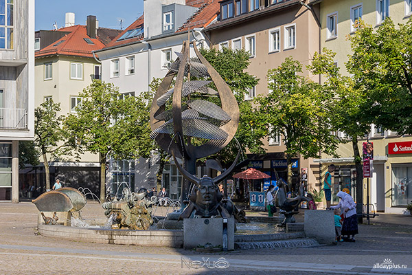Фридрихсхафен, Бодензее, Германия.