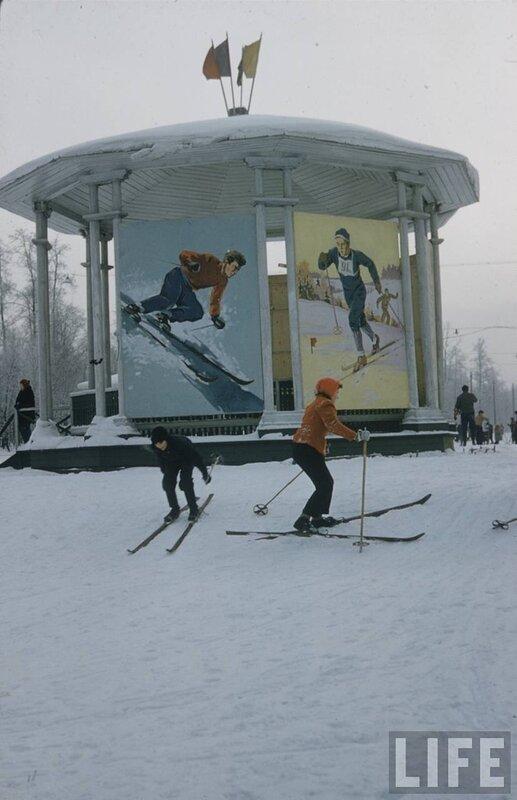 Московская зима 1959 года