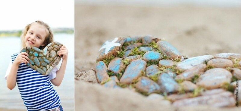 самый необычный фотопроект у моря это при том
