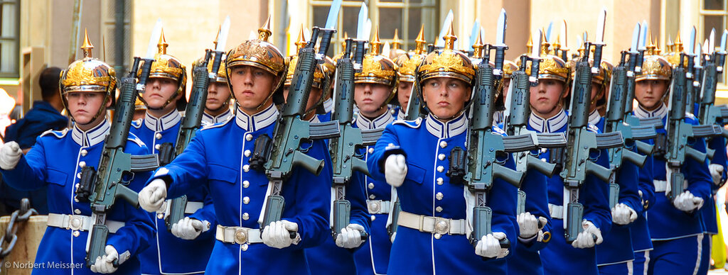Changing of the Guard, Royal Palace, Gamla Stan, Stockholm, Sweden