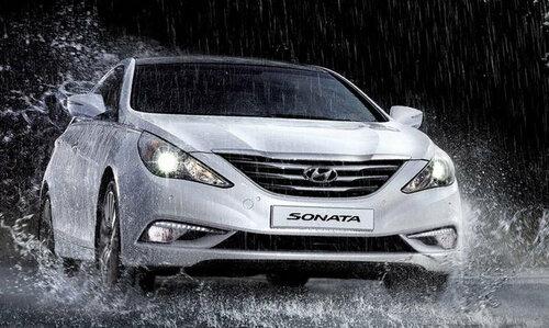 Фотоснимки нового поколения Hyundai Sonata 2014 – 2015: уже в Интернете