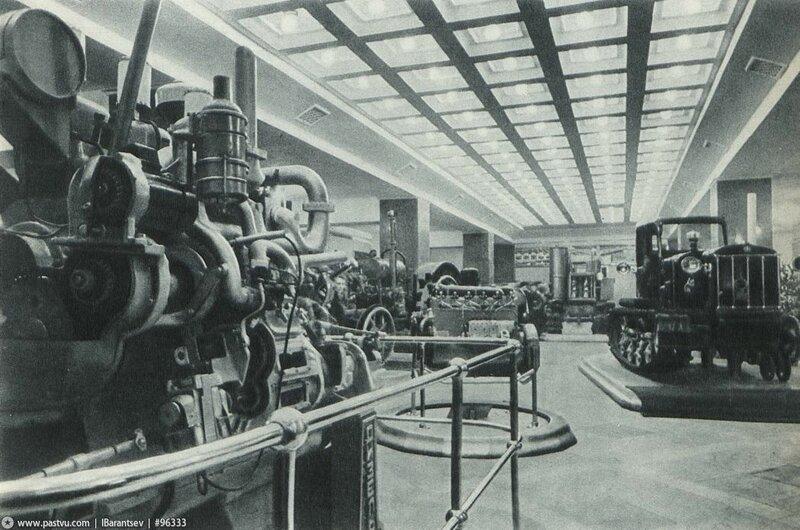 Зал тракторостроения, Павильон Механизация и электрификация сельского хозяйства СССР, 1939-1941 гг.