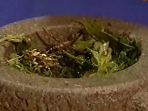 Ароматные травы для курицы на соли