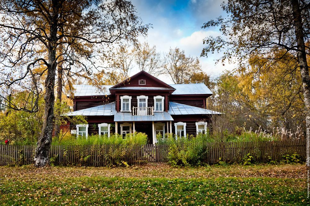 Дом Анны Ахматовой и Николая Гумилева