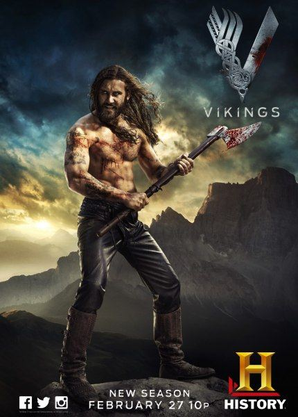 Викинги / Vikings (2 сезон/2014/WEB-DL/WEB-DLRip)
