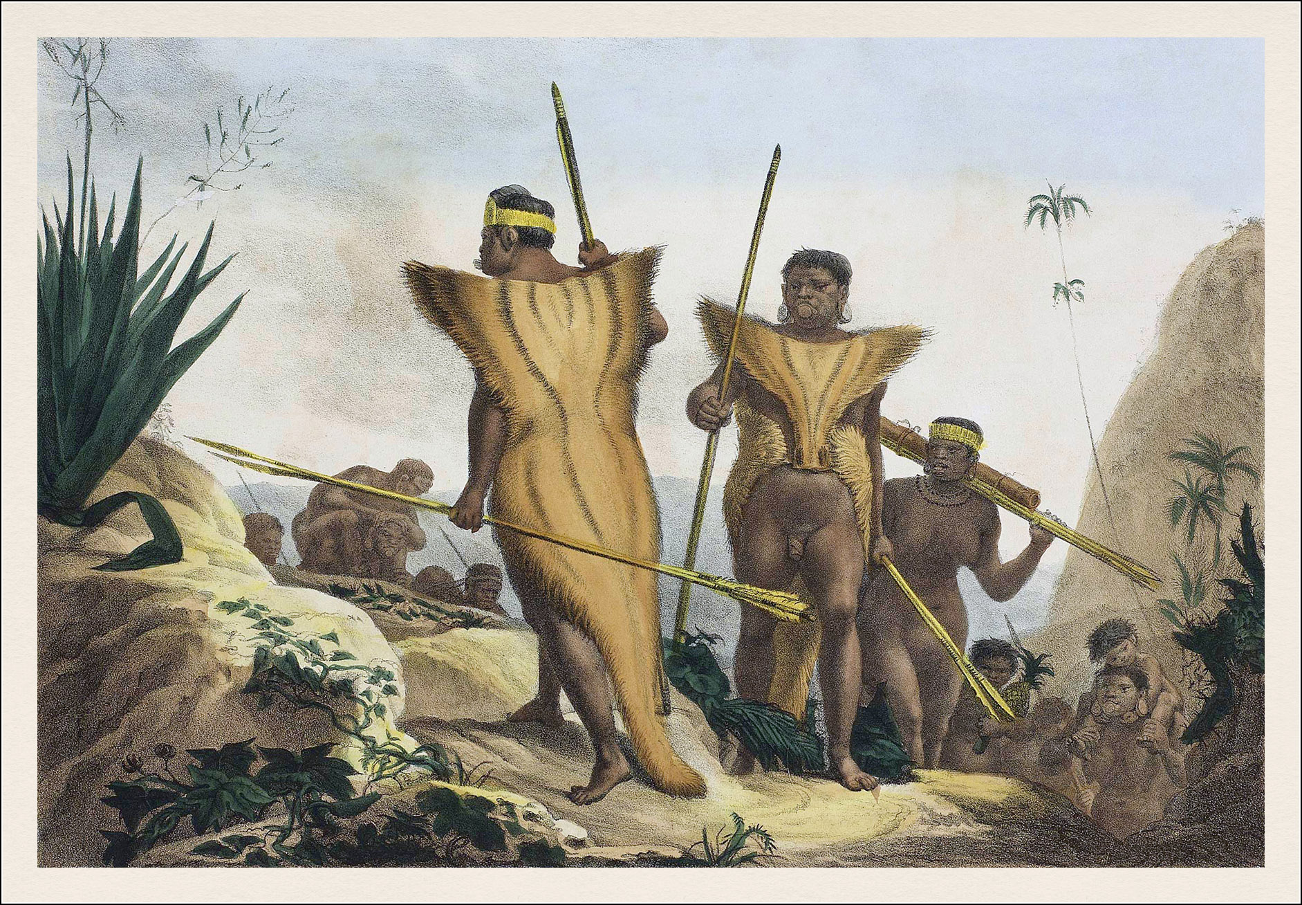 Jean Baptiste Debret, Voyage pittoresque et historique au Brésil