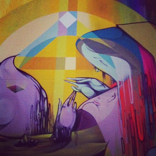 [суб]культура: Граффити по-бразильски. ©Digitalorganico. 30 рb50абот.