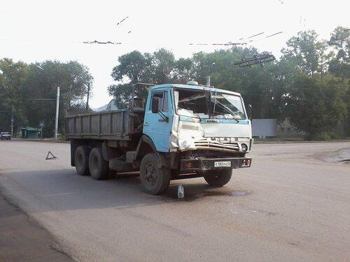 Сразу две аварии за одно утро произошли в Рубцовске