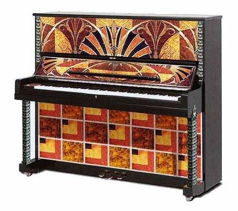 Декорирование пианино