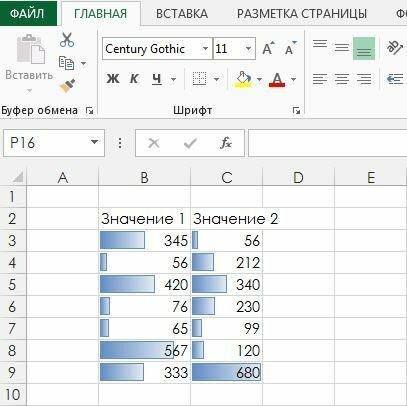 Как в Excel сделать так, чтобы оформление ячейки автоматически менялось в зависимости от ее содержимого