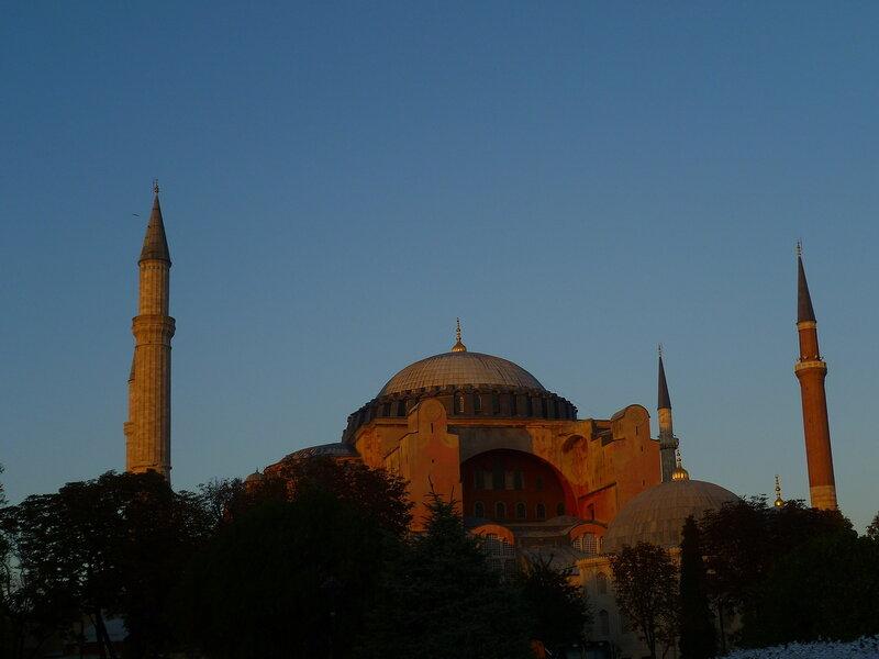 Стамбул. Айя-София (Istanbul. Hagia Sophia