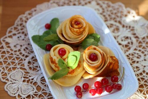 блинные розы)