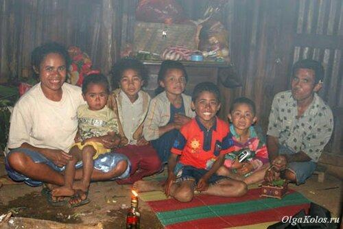 Моя семья в Фатумнаси