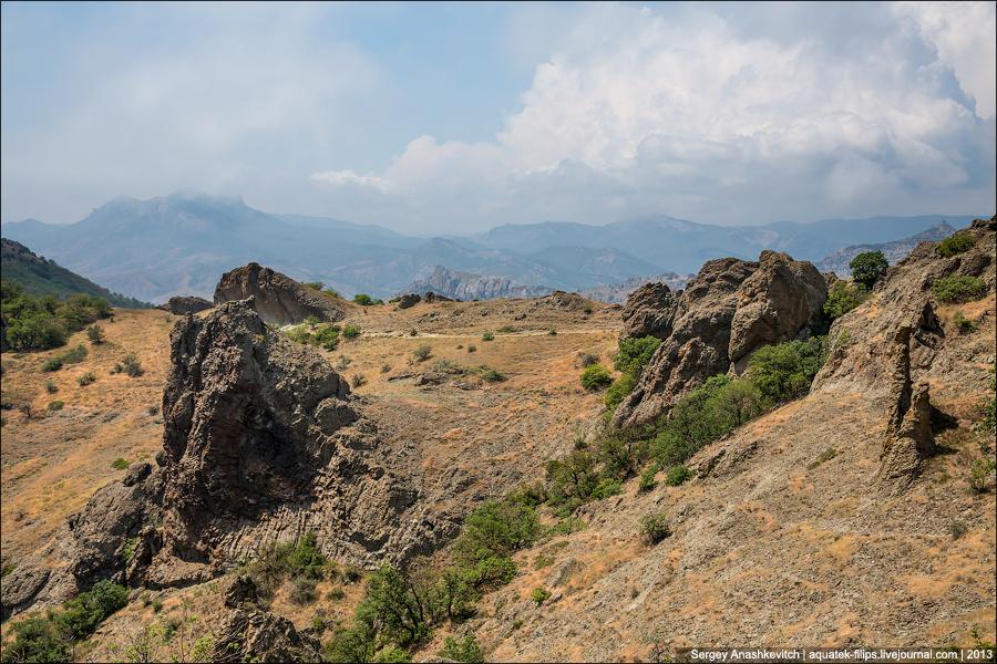 Самый древний в мире спящий вулкан