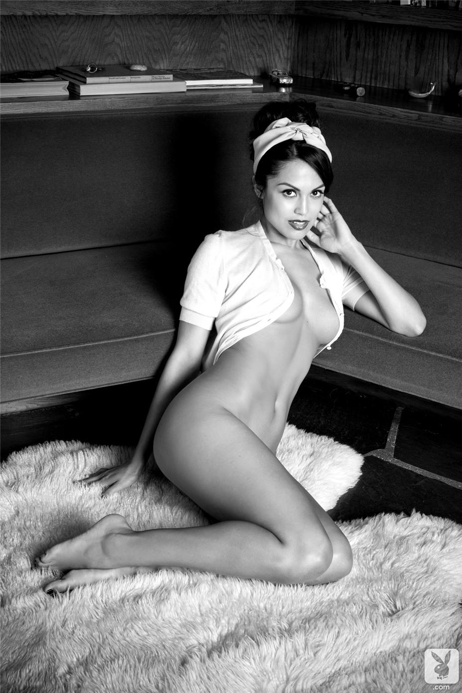 Девушка 2013 года Ракель Помплан / Raquel Pomplun - Playboy Playmate of the Year 2013