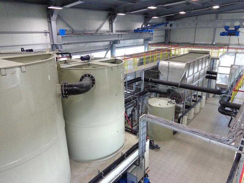 Оборудование для физико-химической очистки  Envochem und Flomar