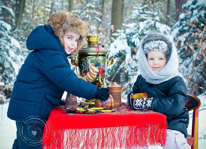Русская зима в Германии