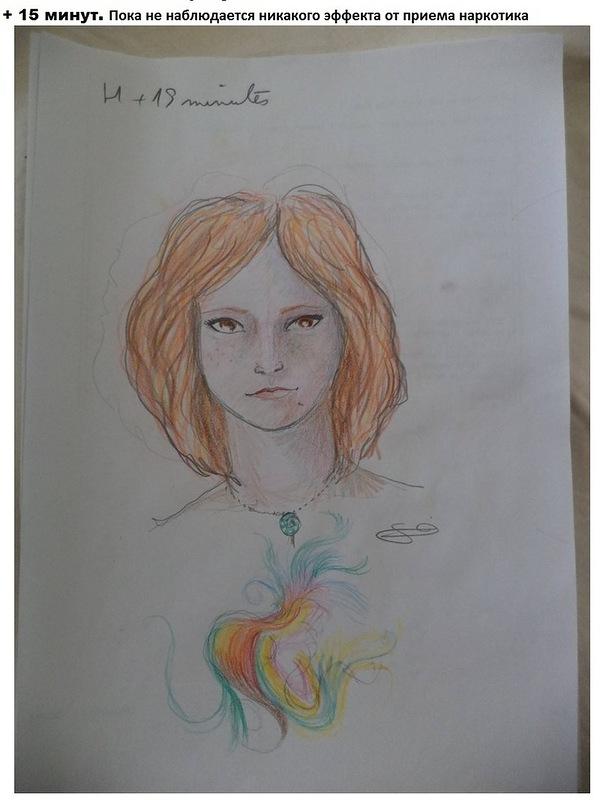 Художник принял ЛСД и рисует девушку напротив