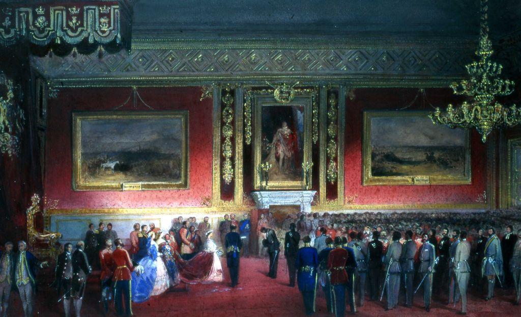 Ливи королевы Виктории для сотрудников-добровольцев, Дворец Сент-Джеймс, 7 марта 1860