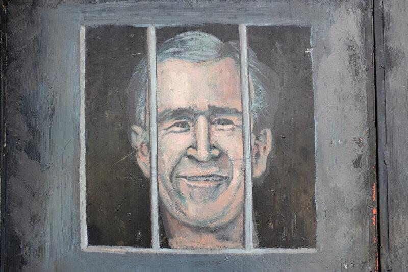 Джордж Буш младший уже сидит в тюрьме!
