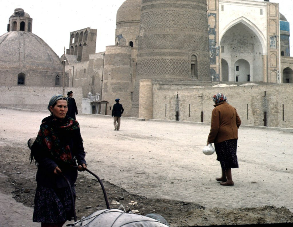 near the minaret in 1966