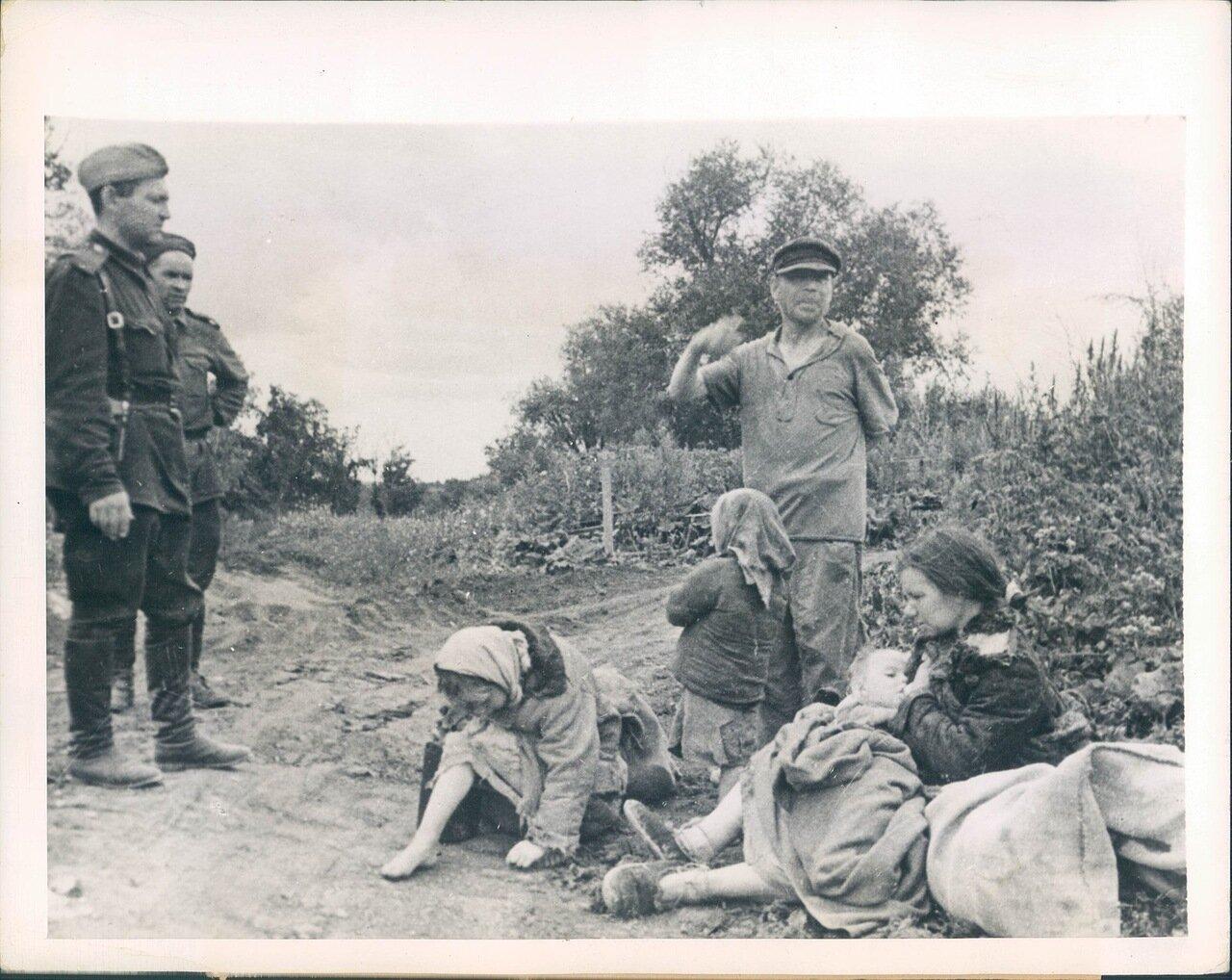 1943. Совхоз Волково Орловской области