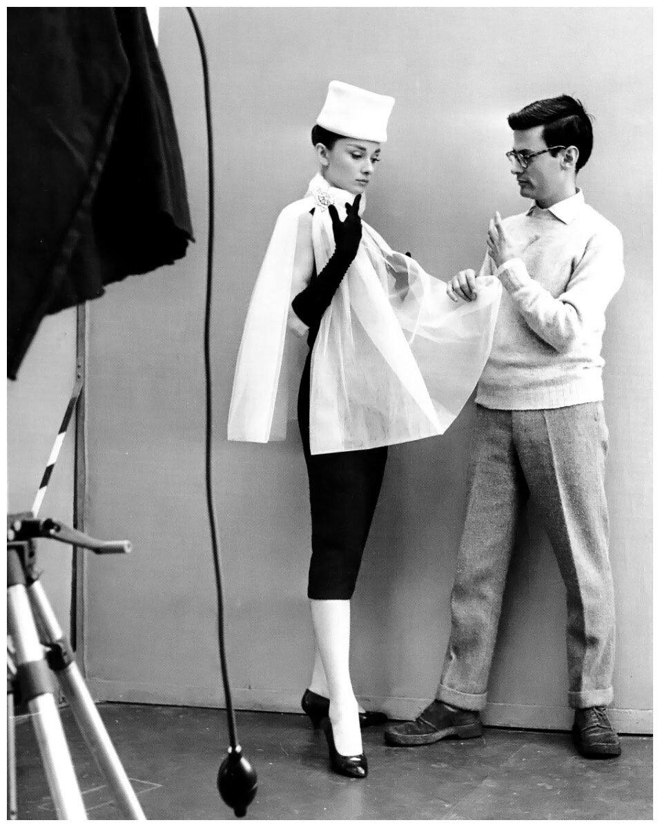 1956. Ричард Аведон и Одри Хепберн