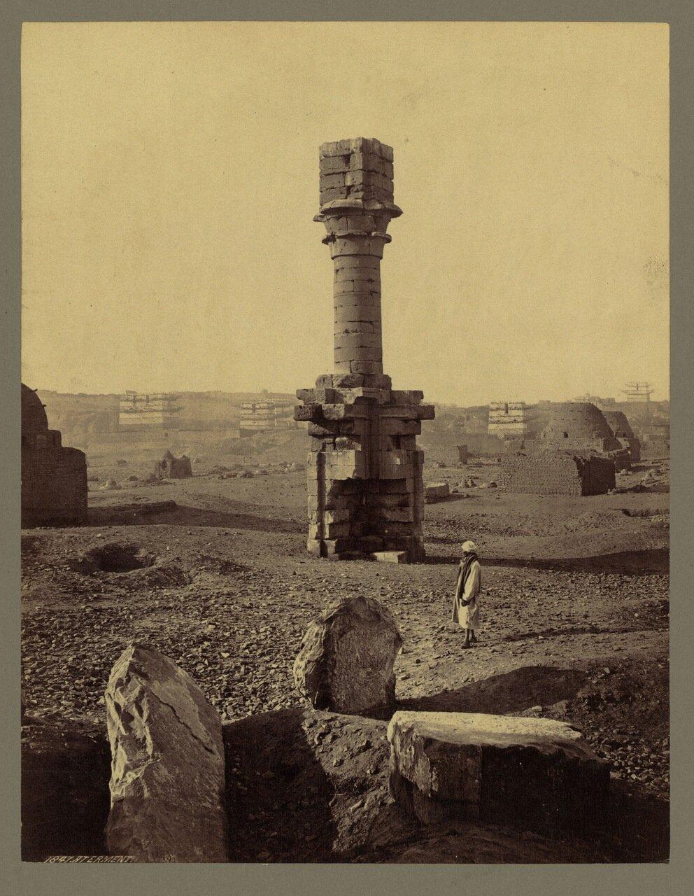 Армант.Руины храма бога Монту