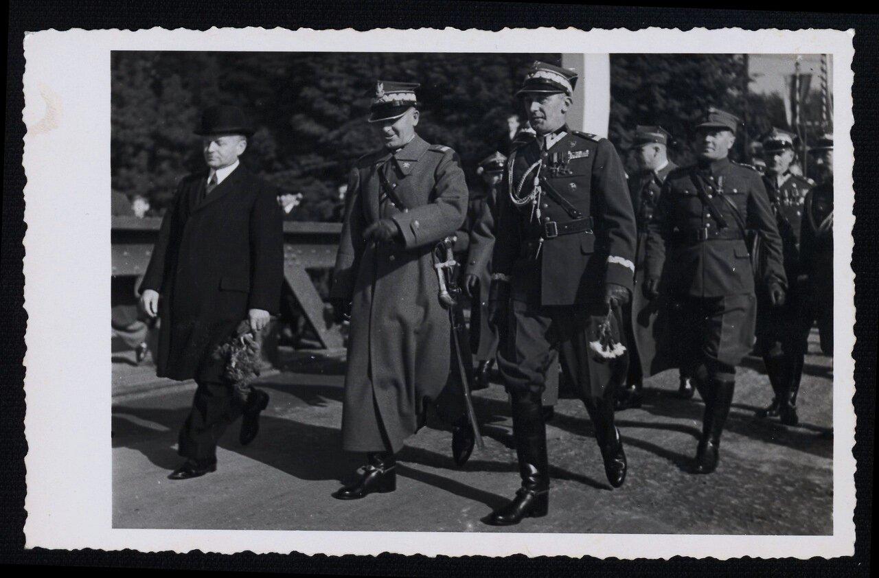 Польские войска в Чески-Тешине