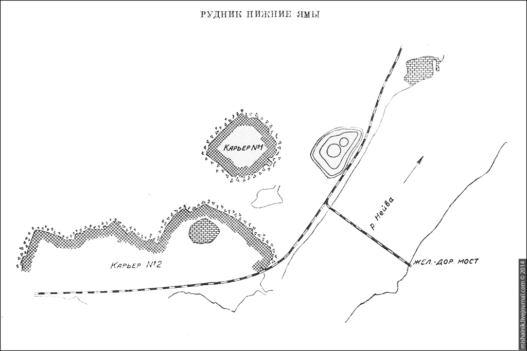 Рудник «Нижние Ямы» Алапаевского железорудного месторождения