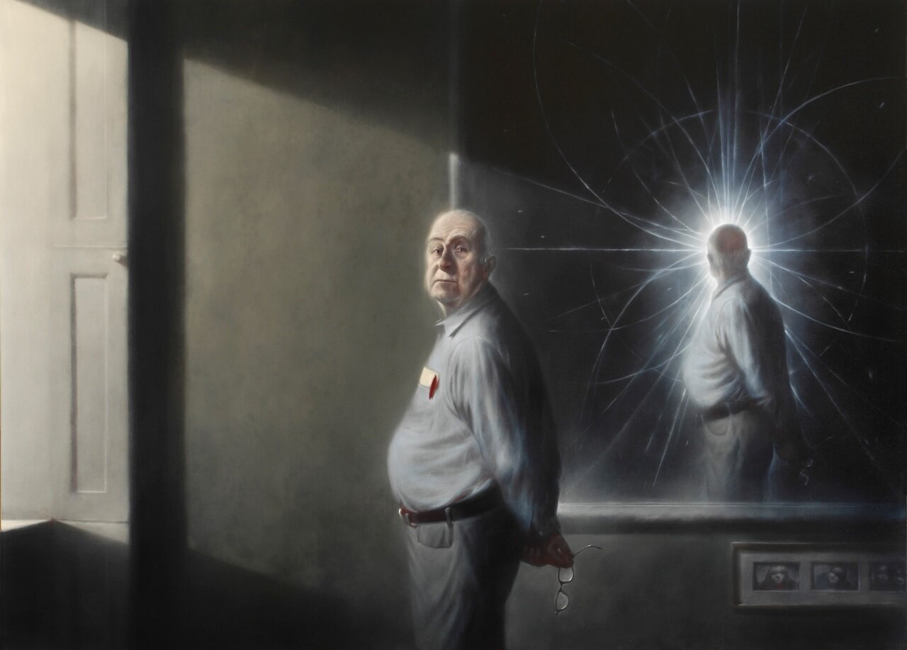 Portrait of Peter Higgs, 2008, by Ken Currie