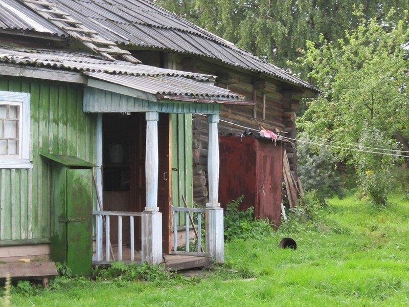 фото крыльцо деревенского дома
