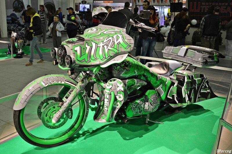 Кастомбайк Harley Davidson DreamLiner от Рокгараж