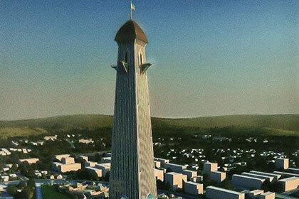 Стало известно время возведения четырехсотметровой башни «Ахмат»