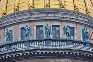 Скульптуры на Исаакиевском соборе (собор преподобного Исаакия Далматского), Санкт-Петербург