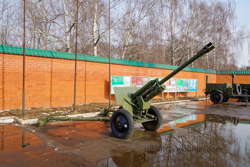 Пушка ЗиС-3, РОСТО Кузьминки, Москва