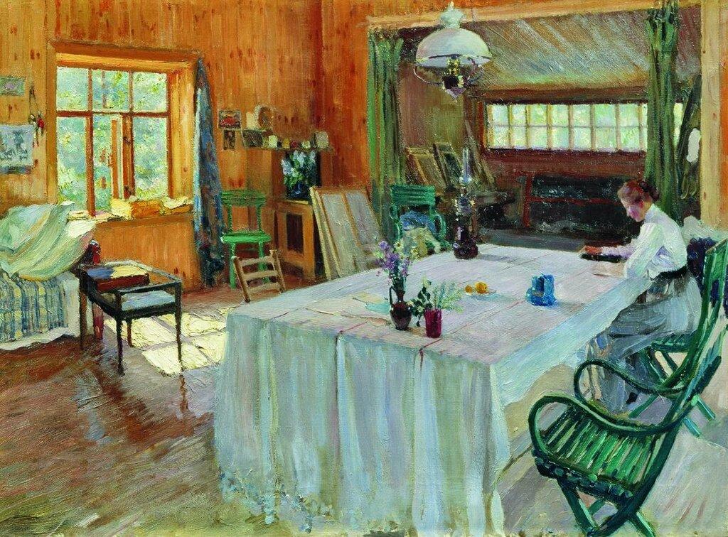 У К.А.Коровина. 1907.jpg