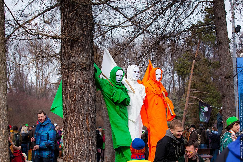 День Святого Патрика в Сокольниках 2014