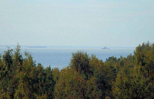 Финский залив с уступа