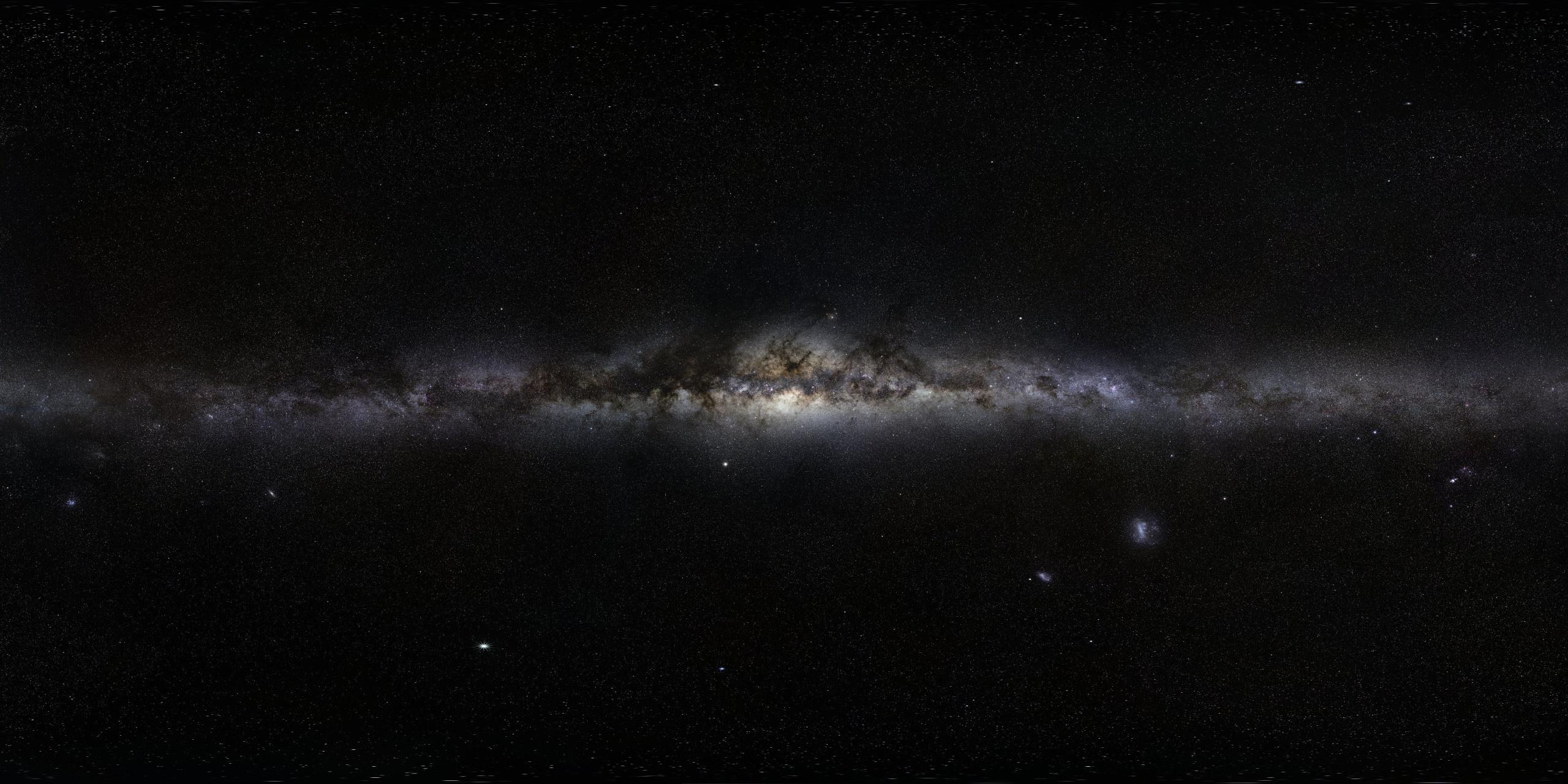 панорама космоса