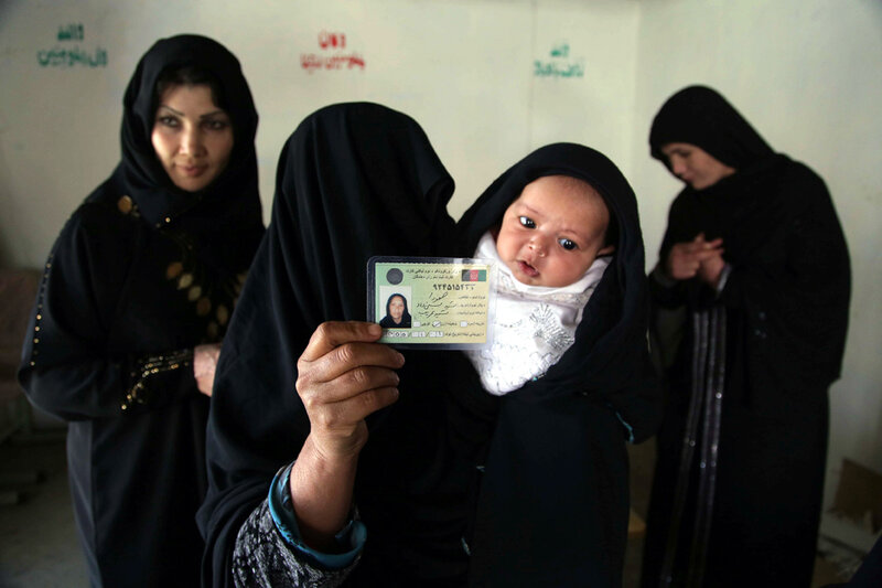 AFGHANISTAN ELECTIONS PREPARATIONS