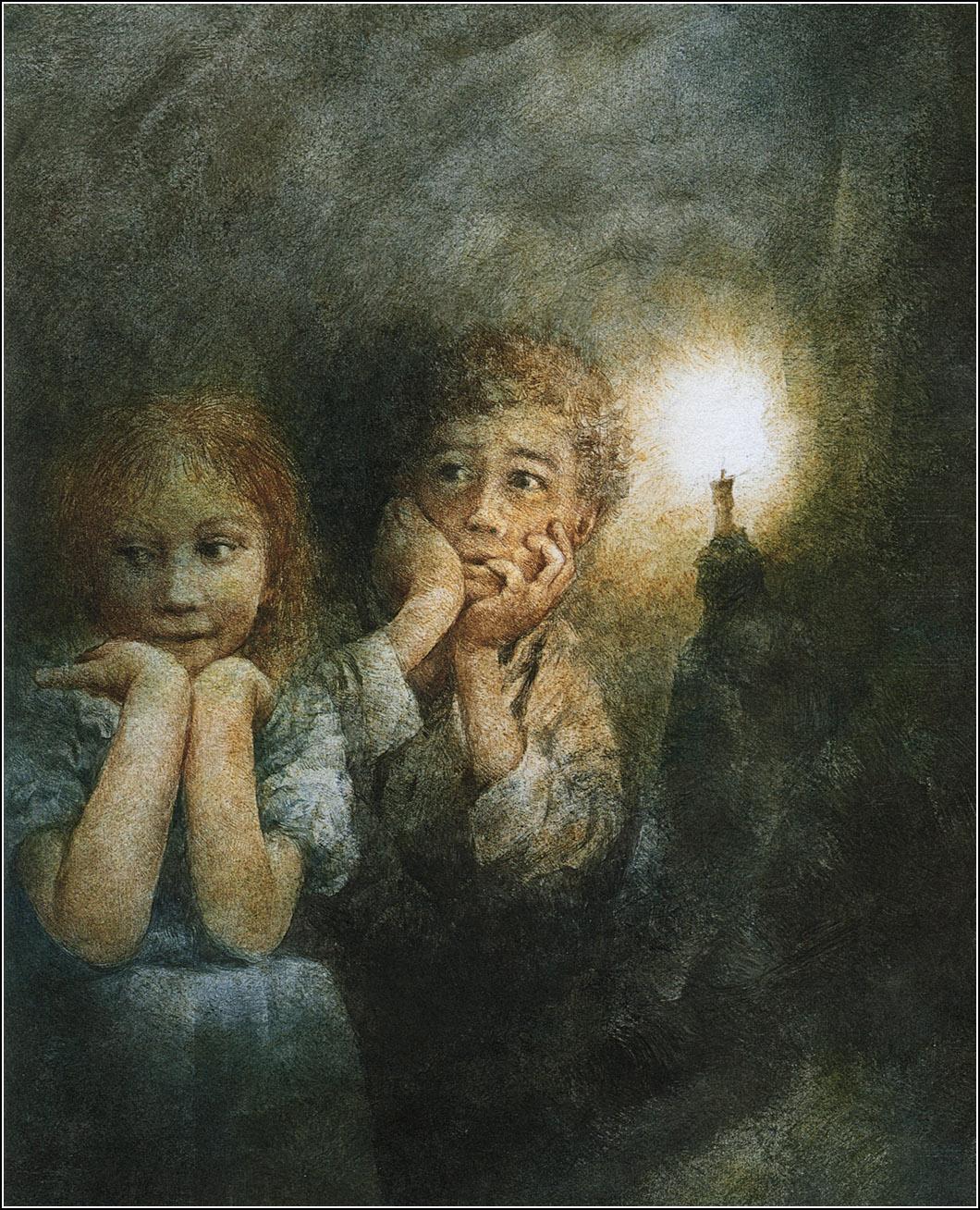 Картинка том сойер в пещера