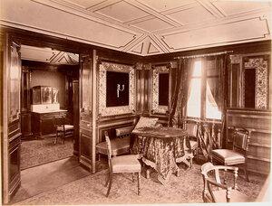 Вид части [кабинета] на яхте Ливадия.