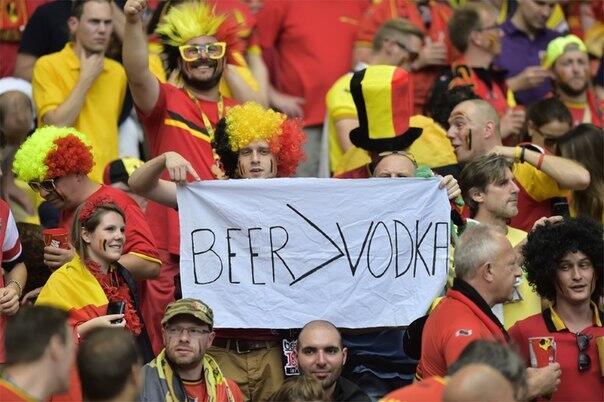матч Бельгия – Россия