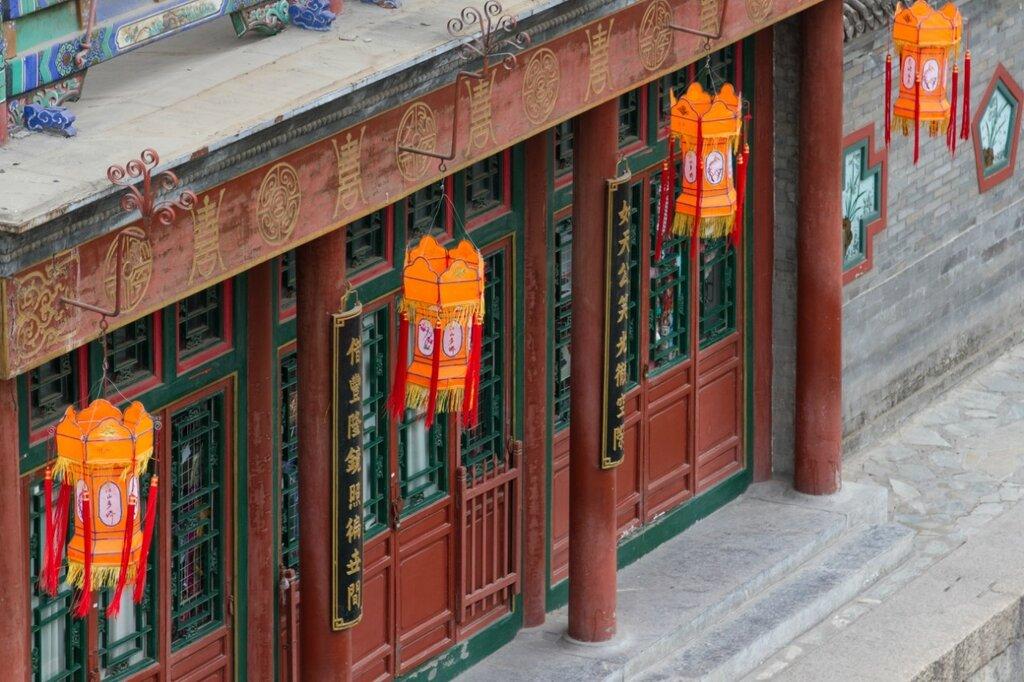 улица Сучжоу, Летний императорский дворец, парк Ихэюань, Пекин