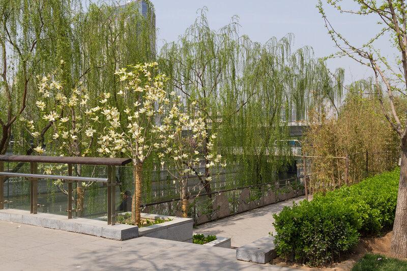 Набережная канала, Пекин