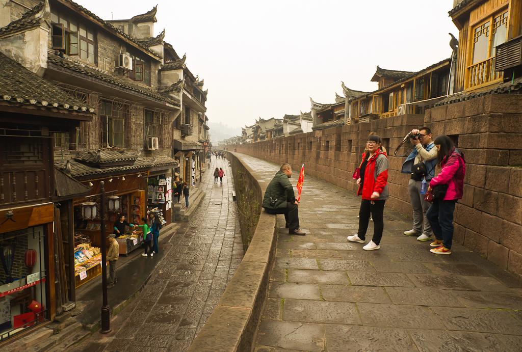 5. На крепостной стене старинного города Фенхуан. Рассказы туристов о самостоятельном путешествии по Китаю.